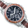 Spinnaker Gents Vessel Chronograph Watch with Two Tone Stainless Steel Bracelet