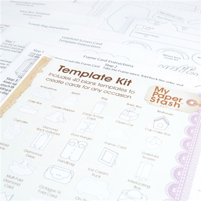 My Paper Stash Template Kit - 40 Templates