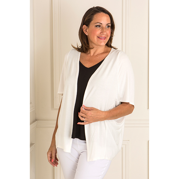 Daisy Eldridge Viscose Cover Up Ivory