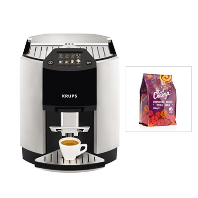 KRUPS Espresseria Bean to Cup Coffee Machine (FREE Coffee Beans)