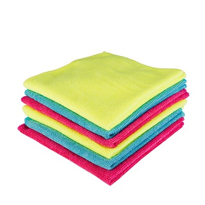 Kingfisher 6 Pack Microfibre Cloths