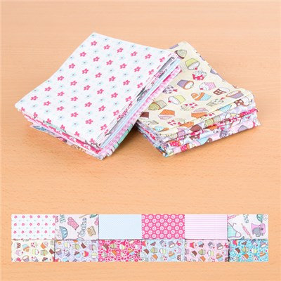 Cupcake and Just Bake 100 Percent Cotton Fat Quarters