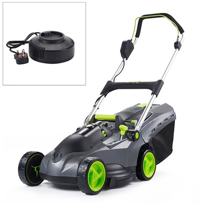 Gtech Mix and Mow Cordless Lawnmower with Fast Charger