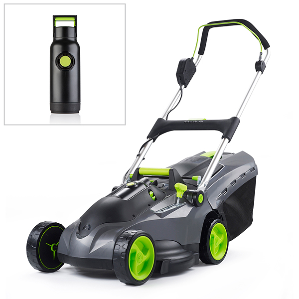Gtech Mix and Mow Mower + Spare Battery
