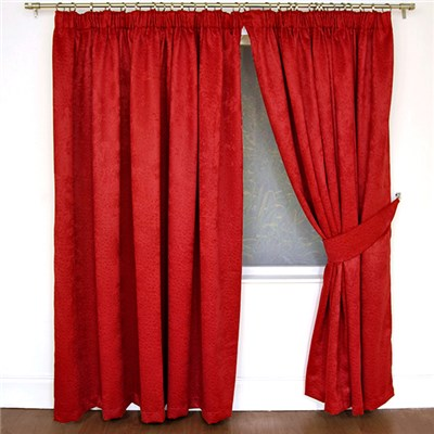 Cranley (46 inches x) Textured Blackout 3 Inch Tape Curtains