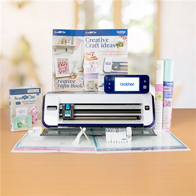 Brother ScanNcut CM900 with Special Shaped Cards USB Vol 2 and Project Book 2 and 3