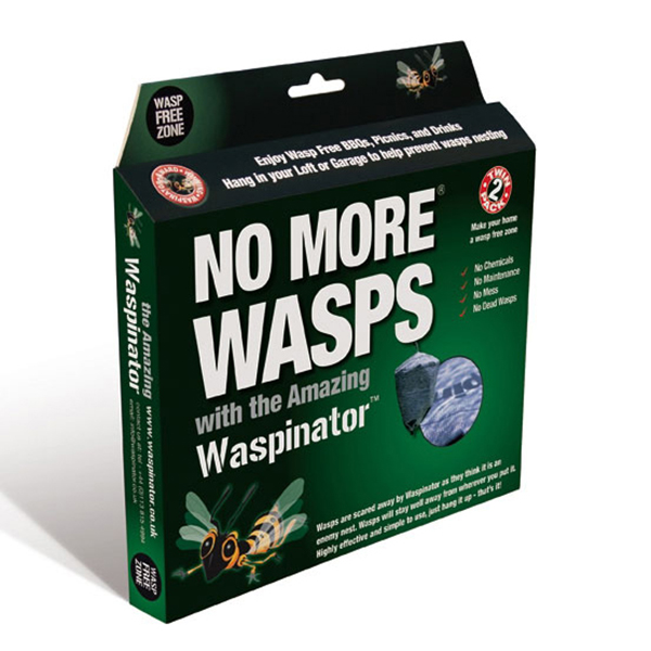 Pair of Waspinator Wasp Deterrents No Colour
