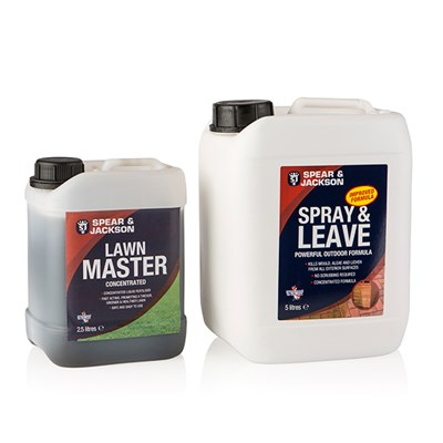 Spray and Leave 5L plus Lawn Master 2.5L