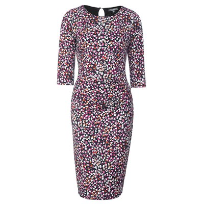 Lavitta Dolly mix print dress 40.5in