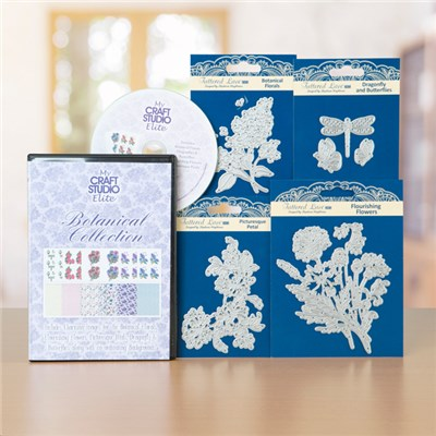 Tattered Lace Botanical Collection with CD ROM