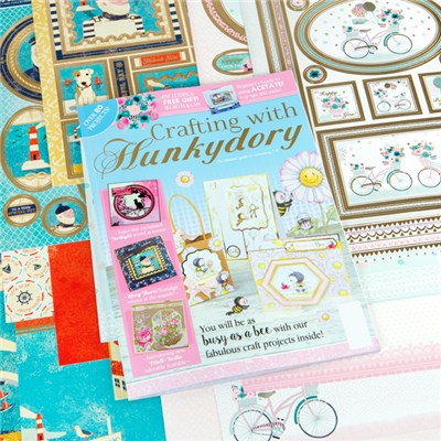 Crafting with Hunkydory Issue 35 with Deluxe Card Collection