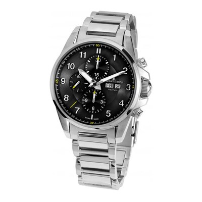 Jacques Lemans Gent's Swiss Made Liverpool Watch (Stainless Steel Bracelet)