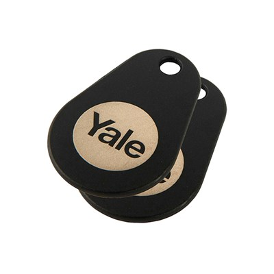 Yale Smart Door Lock Key Tags (Twin Pack)