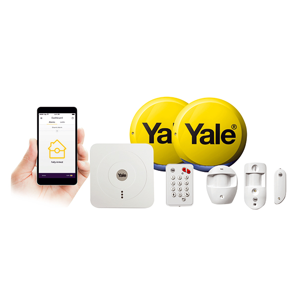 Yale Alarms SR 330 Smart Home Alarm and View Kit 404403
