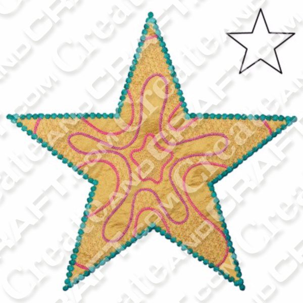 AccuQuilt GO Star 5-Point by Sarah Vedeler No Colour