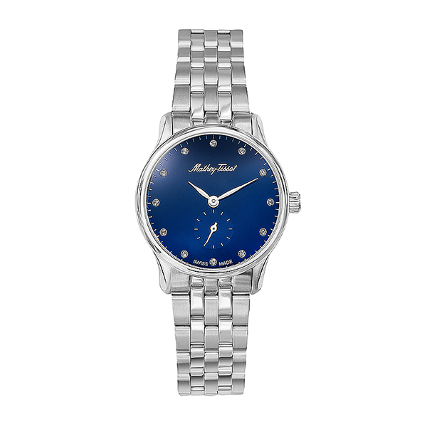 Mathey-Tissot Ladies' Edmond with Stainless Steel Bracelet Blue