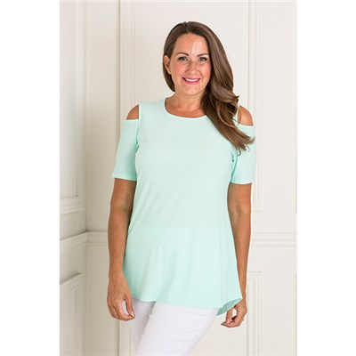 Anamor Cold Shoulder Top