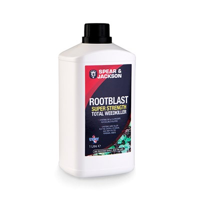 Spear & Jackson Root Blast Super Strength Total Weedkiller 1L