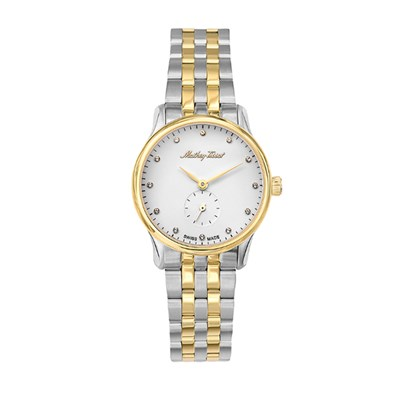 Mathey-Tissot Ladies' Edmond with Two Tone Stainless Steel Bracelet