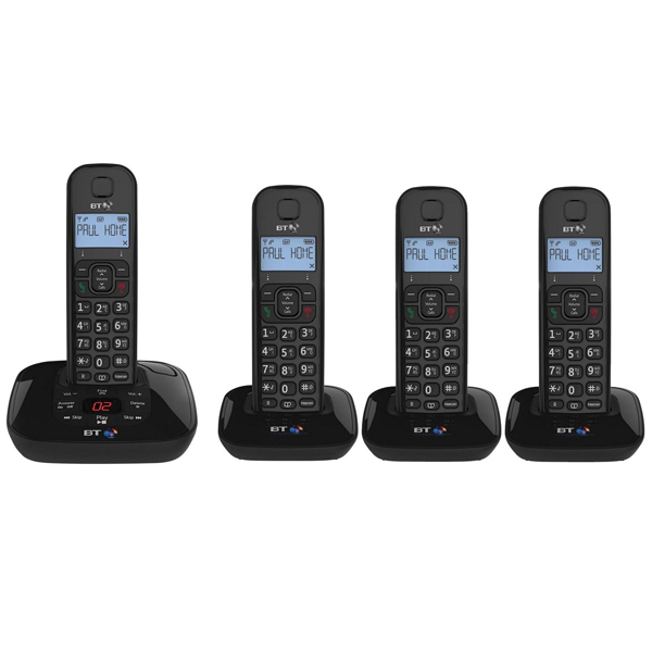 BT Cordless Phone With A/M No Colour