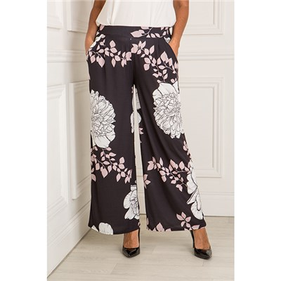 Styled By Print Palazzo Trouser