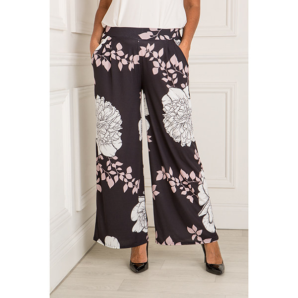 Styled By Print Palazzo Trouser Print