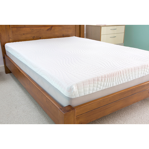 Sleep Genie Ultimate Comfort 25cm Single Mattress Featuring Aurora Foam No Colour