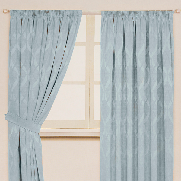 Orion Thermal Curtains (90 inches x) Duck Egg