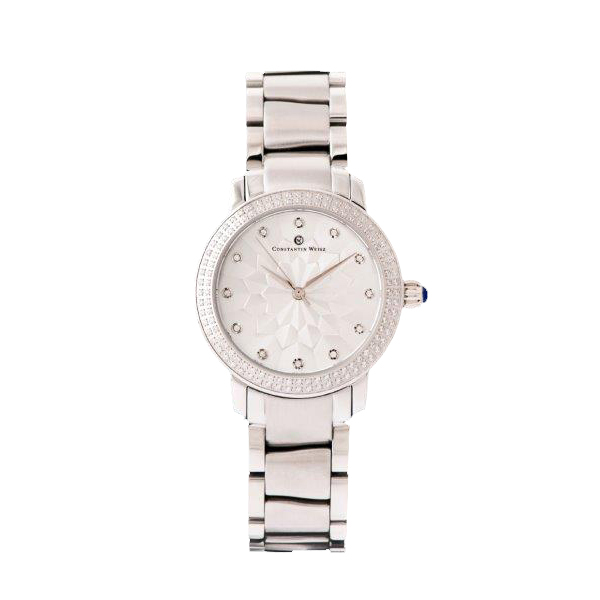 Constantin Weisz Ladies' Watch with Stainless Steel Bracelet Silver