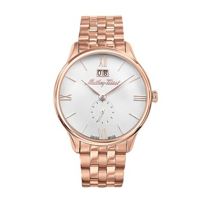 Mathey-Tissot Gent's Edmond Watch with IP Plated Stainless Steel Bracelet