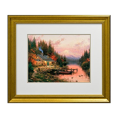 Thomas Kinkade End of the Perfect Day Open Edition Print