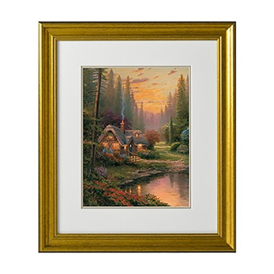 Thomas Kinkade Meadowood Cottage Open Edition Print