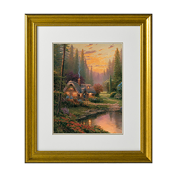 Thomas Kinkade Meadowood Cottage Open Edition Print Traditional