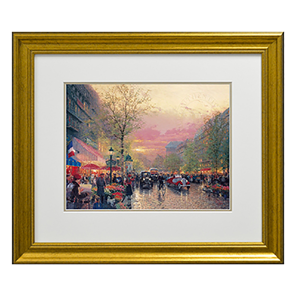 Thomas Kinkade Paris, City of Light Open Edition Print Traditional