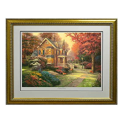 Thomas Kinkade Victorian Autumn Limited Edition Print