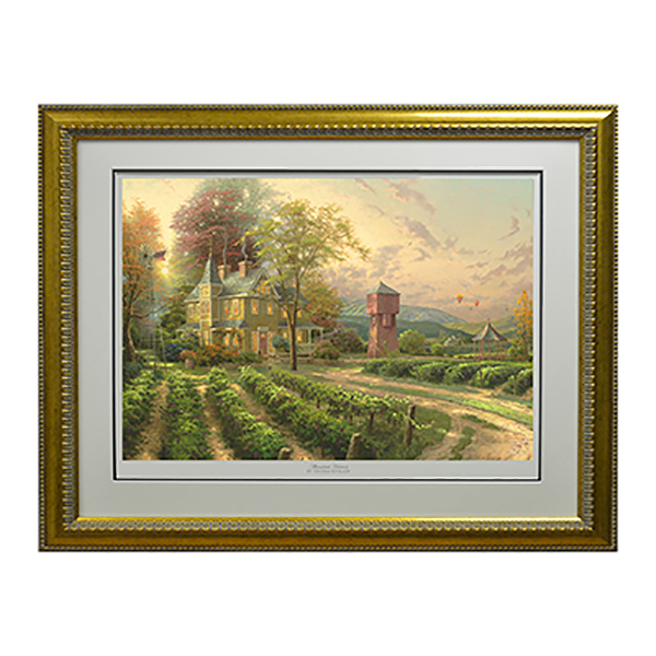 Thomas Kinkade Abundant Harvest Limited Edition Print Gold
