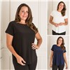 Nicole 3 Pack Soft Touch Short Sleeve Top