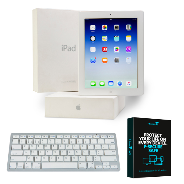 Apple iPad 3 64GB WiFi3G (Refurbished Warranty) with Wireless Keyboard 405860