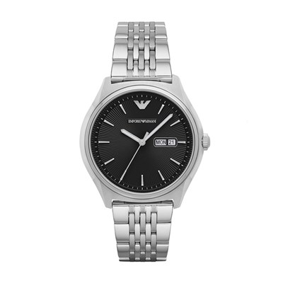 Emporio Armani Gent's Dress Watch with Stainless Steel Bracelet