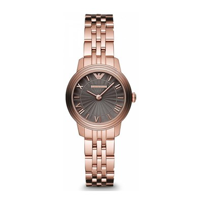 Emporio Armani Ladies' Watch with IP Plated Stainless Steel Bracelet