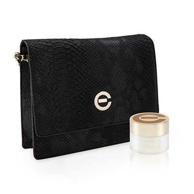 Elizabeth Grant Active 35 Cream 100ml with Snake Effect Clutch Bag