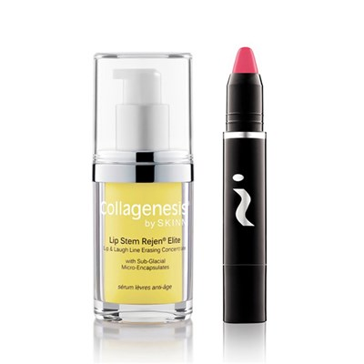 Skinn Lip Treat and Colour Duo Lip Stem Rejen Serum Elite with Glosstick