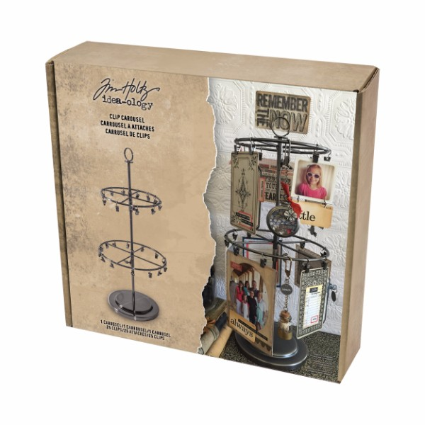 Tim Holtz Clip Carousel No Colour