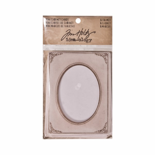 Tim Holtz Mini Cabinet Cards No Colour