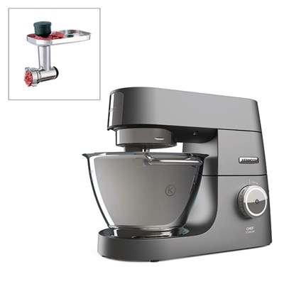 Kenwood Chef Titanium Kitchen Machine with Meat Grinder Attachment
