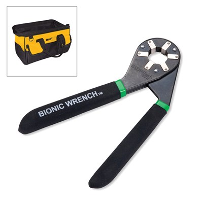 8 Inch Bionic Wrench with Wolf Tool Bag