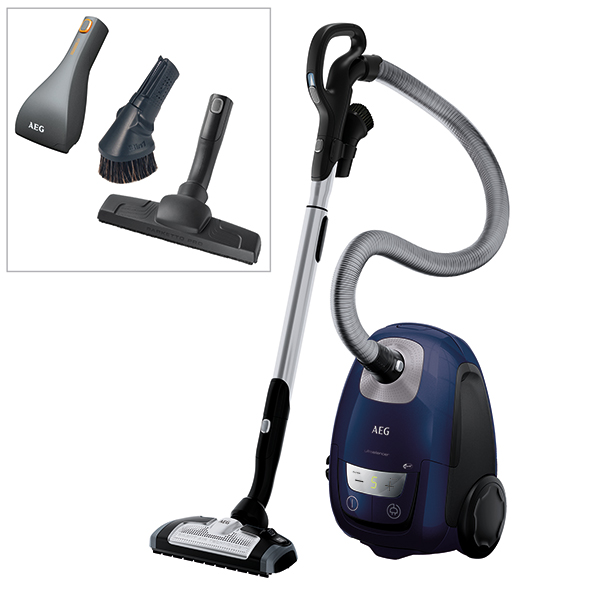 AEG VX8 Silence Pet Pro Cylinder Vacuum No Colour