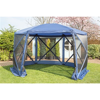 Pavilion Spring Up Instant 6 Sided Summer House