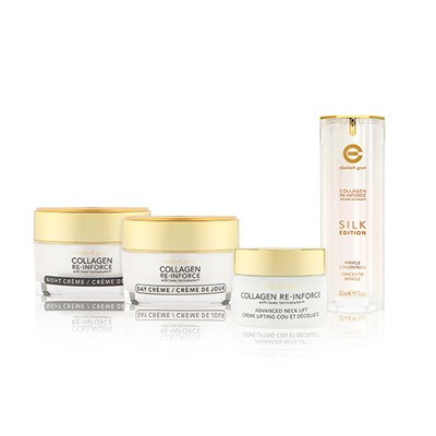 Elizabeth Grant Collagen Re-Inforce Creams, Silk Miracle and Neck Lift