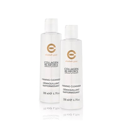 Elizabeth Grant Collagen Re-inforce Firming Cleanser Twin-pack